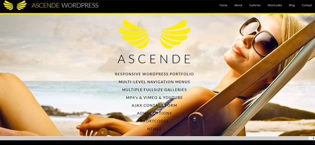 Ascende WordPress Template
