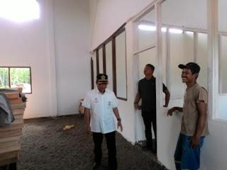 Dinilai Lambat, Apriyadi Tegur Pembangunan Gedung SMK N 1