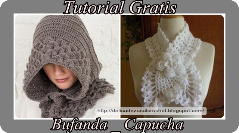 Delicadezas en crochet Gabriela: Accesorios- Bufandas estilo ...