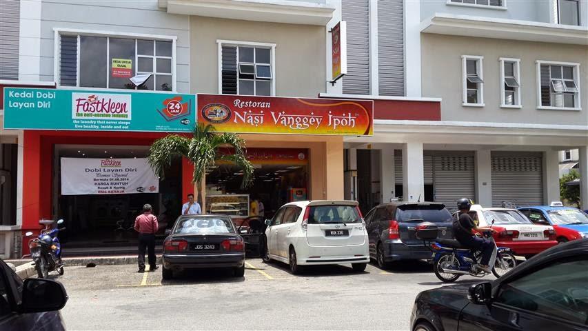 Restoran Nasi Vanggey Ipoh