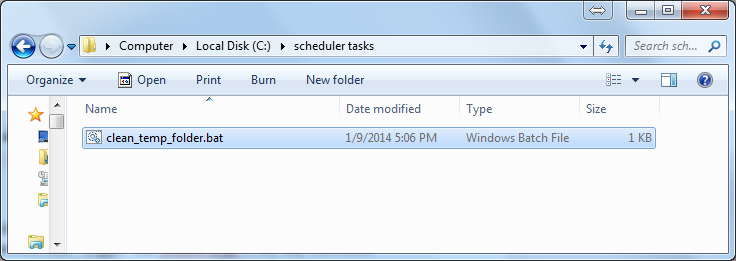 how to delete all temp files on windows 7