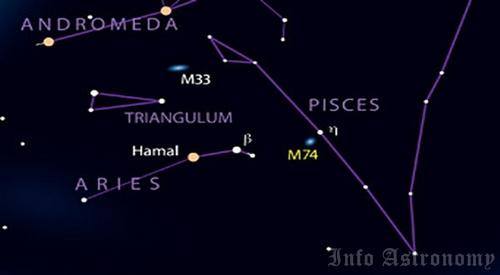 Ledakan Bintang di Galaksi M74 Baru Saja Ditemukan