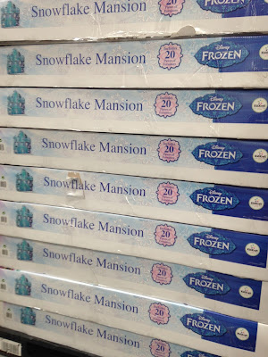 Let it go, let it go with the KidKraft Disney Frozen Snowflake Mansion