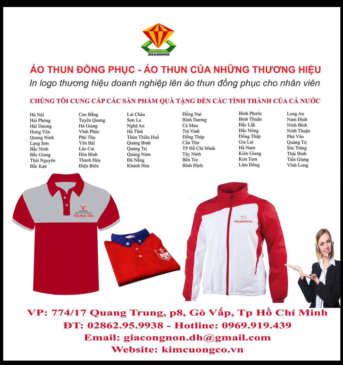 Xưởng sản xuất quà tặng quảng cáo cho doanh nghiệp tại Tp Hồ Chí Minh, Đồng Nai, Bình Dương