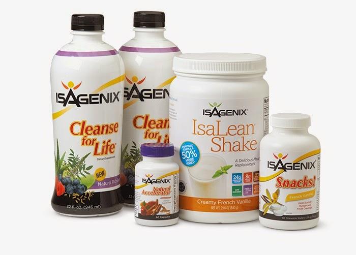 Isagenix 9 day cleanse thanh lọc cơ thể, giải độc, giảm cân