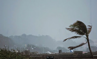 As the cyclone 'Hudhud' is closing in on the Andhra Pradesh coastline and is expected to make a landfall near Visakhapatnam by Sunday afternoon, about 1.11 lakh people in five coastal districts have been shifted to safer places.