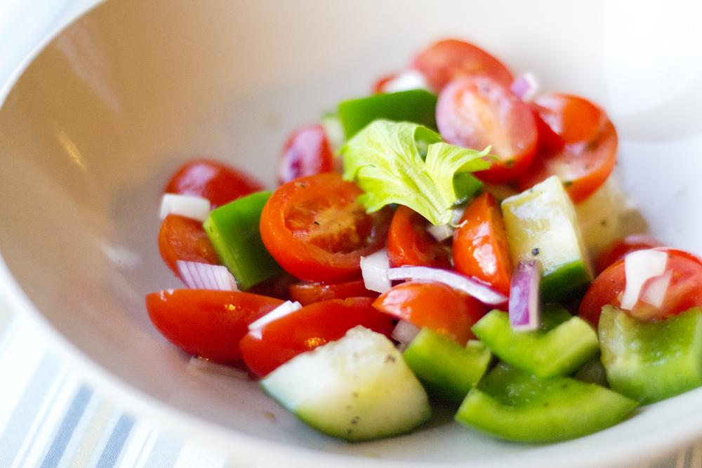 gazpacho salad add the spicy hot v 8 juice lentil gazpacho salad ...