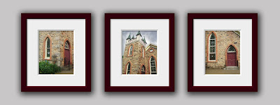 Gothic Church Set -Three 8x10 Fine Art Photographs