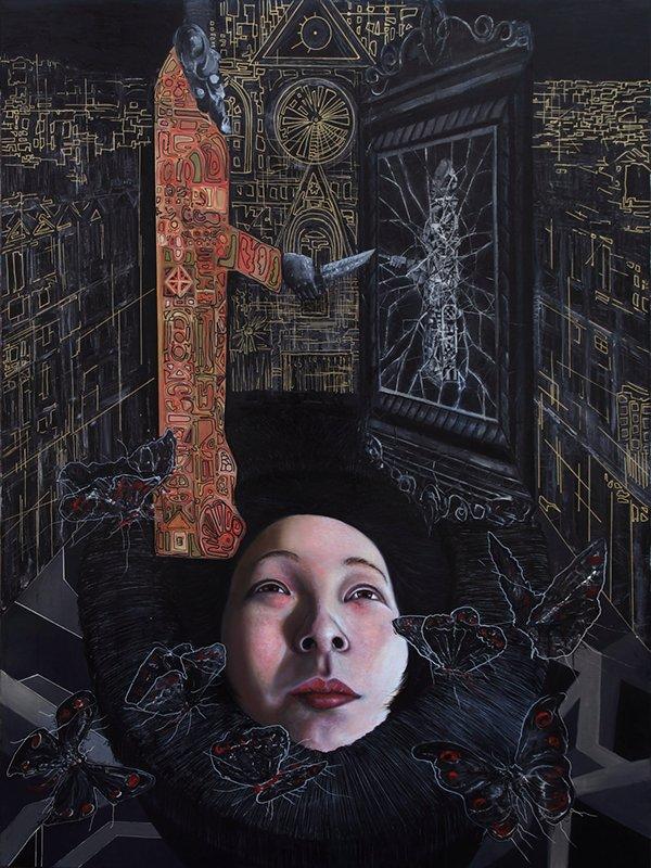 © 祎 王 Wang Yi | Going Public. Pintura | Painting