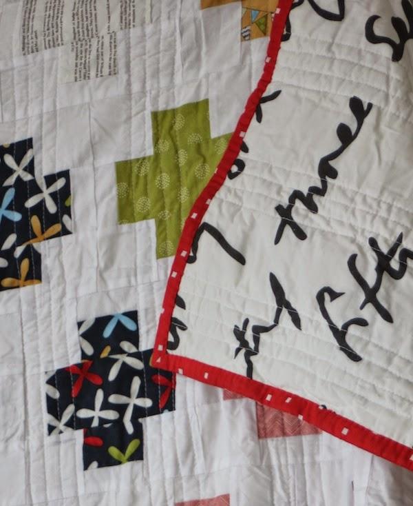 Tela de Ikea usada para patchwork