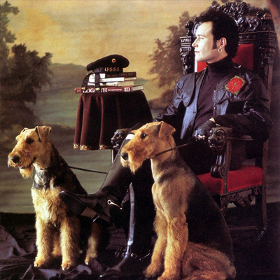 Adam Ant album back cover: Manners & Physique, 1990.