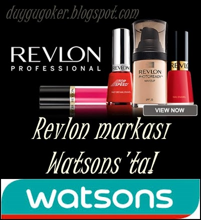 Revlon Watsons'ta