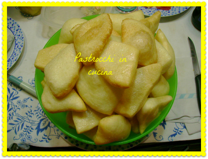 Pastrocchi in cucina gnocco fritto - Gnocco in cucina ...
