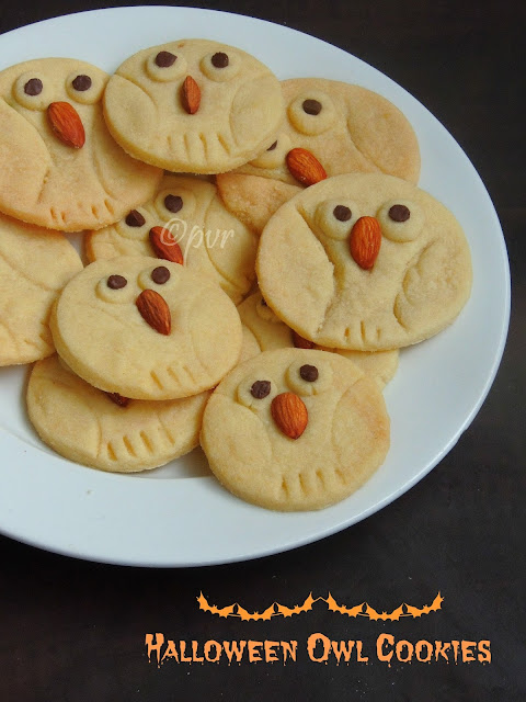 Owl cookies, Halloween Owl Cookies