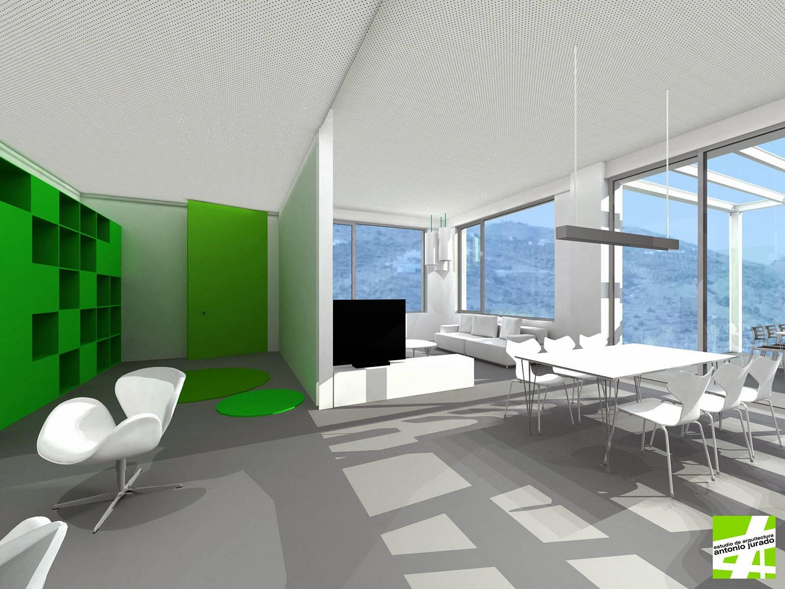 Reforma interior de loft torrox m laga estudio de - Arquitectos interioristas malaga ...