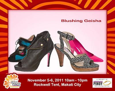 Blushing Geisha Shoes at the Global Pinoy Bazaar