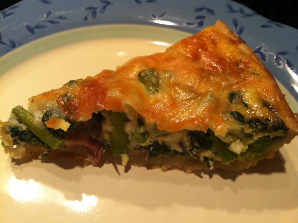 Quick and Easy: Spinach, Asparagus and Prosciutto Quiche - The Rescue ...
