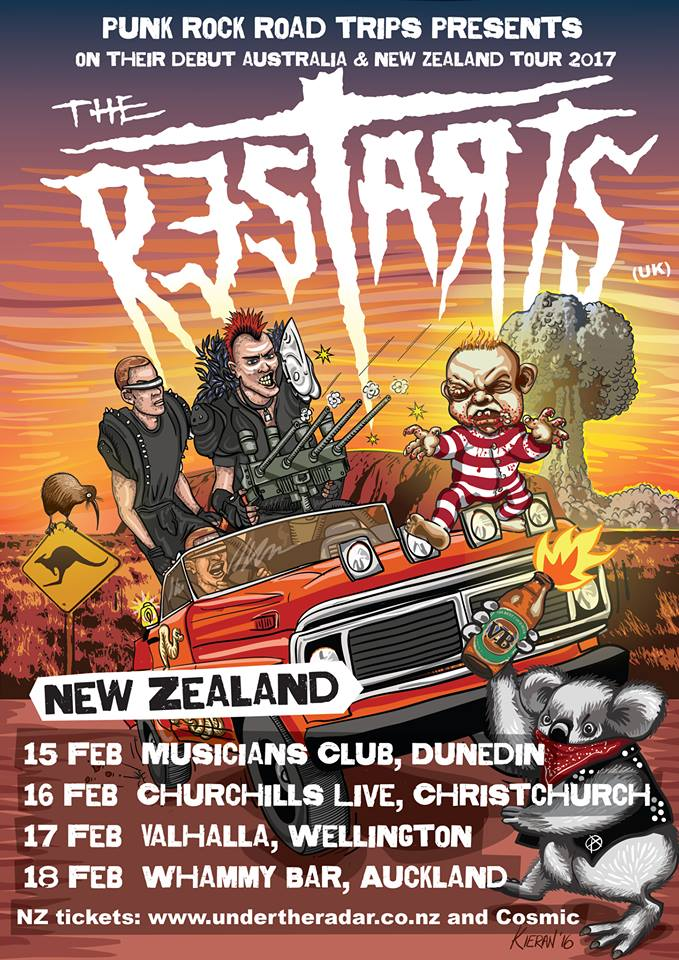 The Restarts AUS/NZ Tour