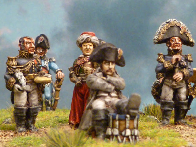 Napoléon et son Etat- Major - Figurines Wargames Foundry 5