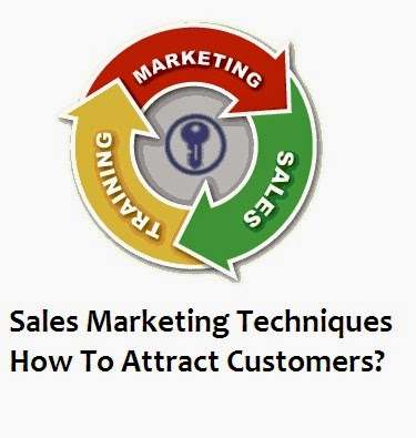 Sales Marketing Techniques How To Attract Customers