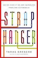 Book cover: Straphanger by Taras Grescoe