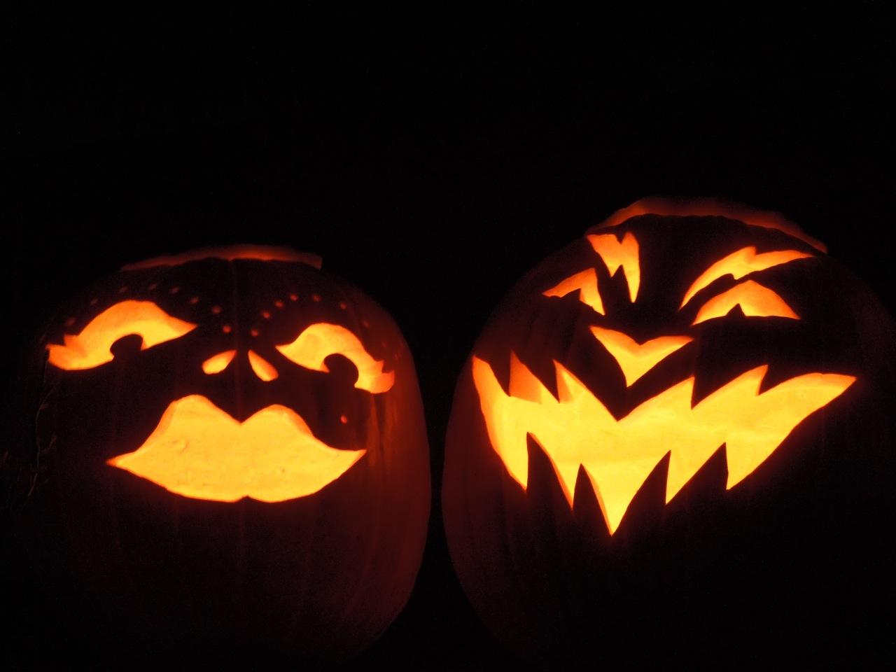 Carved Halloween Pumpkin Designs