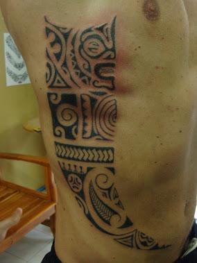 body tattoo polynesian thailand bamboo tattoo