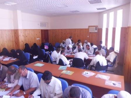 ورشة عمل من أجل  ( تنمية قدرات و مهارات المعلم ) التي نفذها معهد الخيرات CIMG2273
