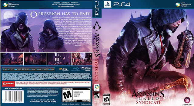 Capa Assassins Creed Syndicate PS4