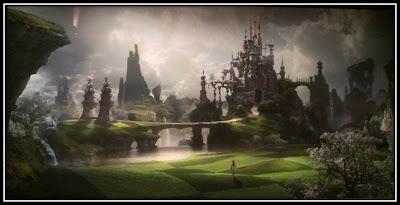 Expo reve de Monuments La conciergerie Paris, chateau heroix fantasy peinture