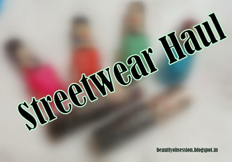 A Streetwear Haul....