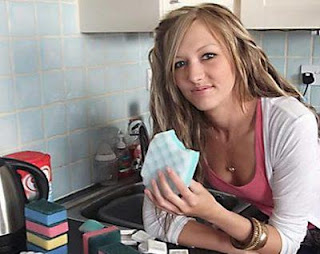 beautiful doctor who likes to eat soap and sponge