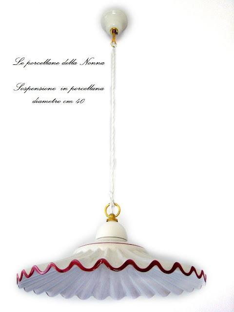 lampadari in porcellana : Lucicastiglione NetworkedBlogs by Ninua