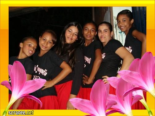 Grupo de coreografia Shekiná