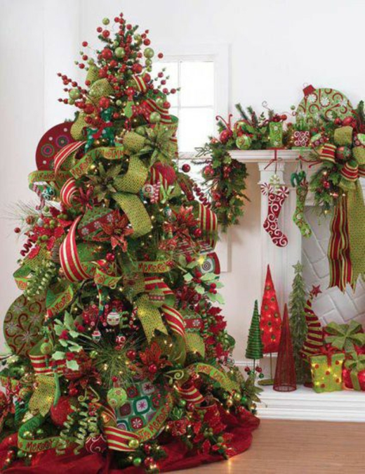 Tree Decorating Ideas | Kitchen Layout and Decor Ideas