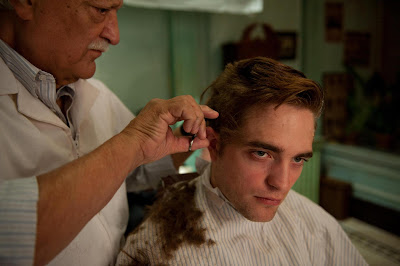 Robert Pattinson as  Eric Packer finally gets a haircut, Cosmopolis (2012), Directed by David Cronenberg