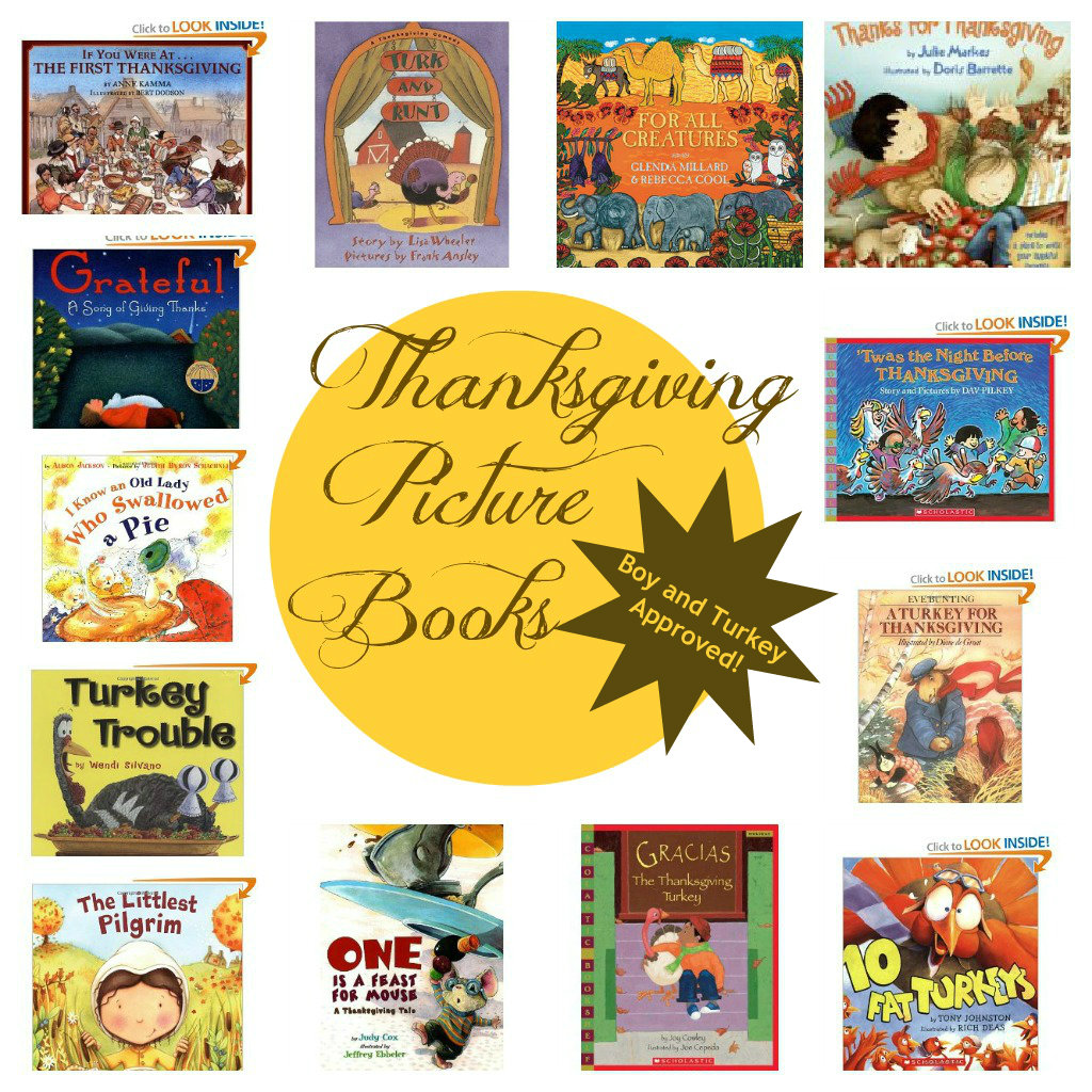 Thanksgiving Picture Book Round-up