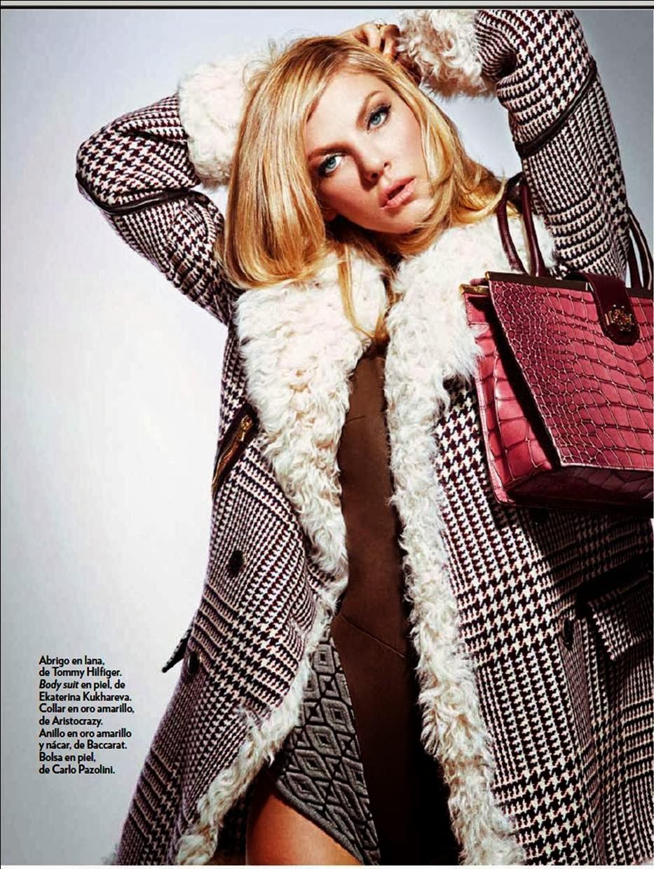 Angela Lindvall - Marie Claire LatAm Magazine November