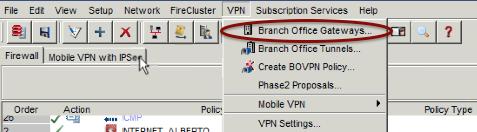 WatchGuard VPN