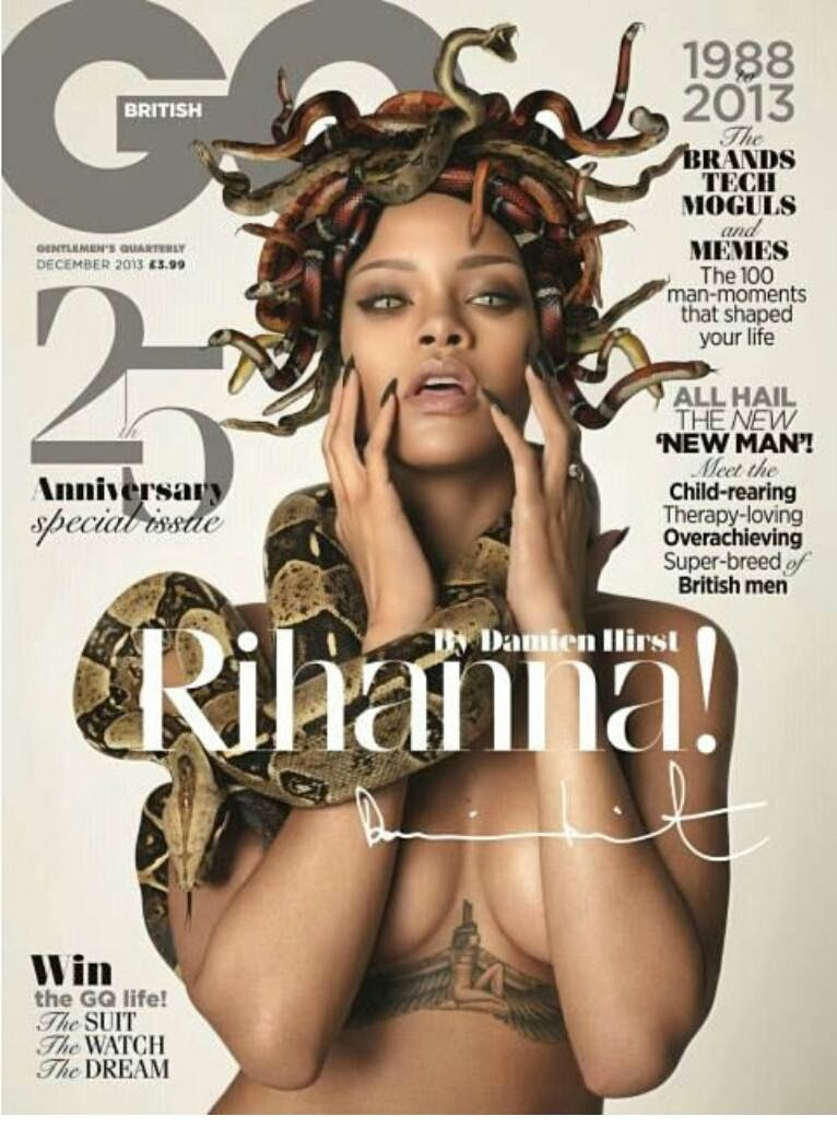 "Magazine Love"" Rihanna Cover the British GQ!"