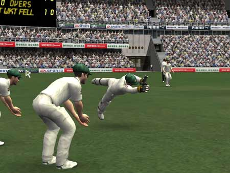 ea sports cricket 07 Great catch