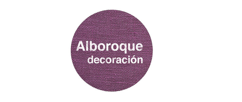 Alboroque decoración