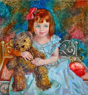 Retratos Infantiles Niñas Oleo