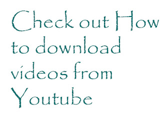 Check out How to download fom Youtube