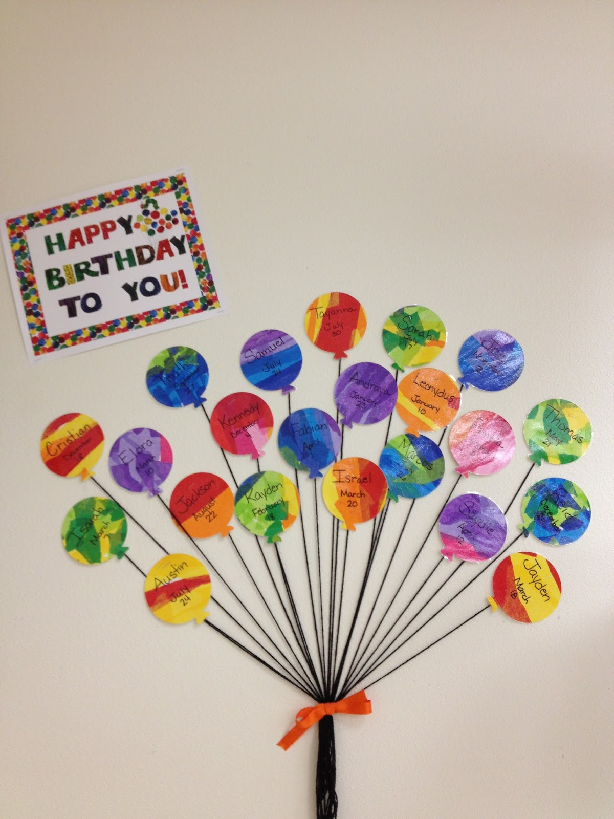 Classroom Birthday Ideas For A Teacher ~ Teaching in blue jeans welcome to my classroom