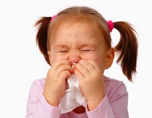 Gambar anak terkena influenza