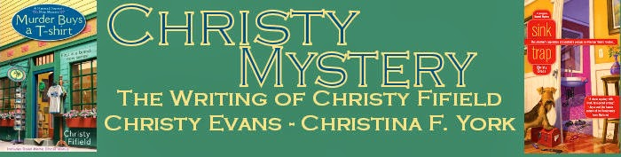 For Christina York writing Mystery!