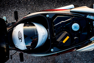 Honda Supra-X 125 Helmin