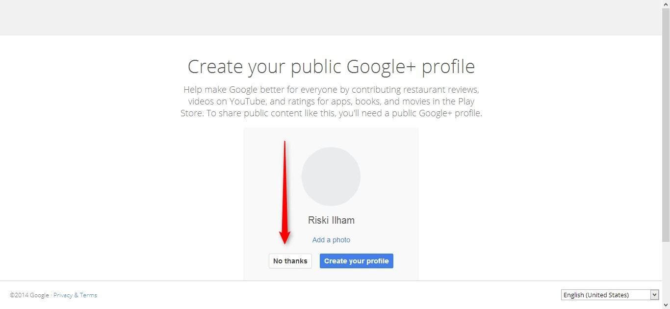 Cara Membuat Email Google (Gmail) gambar 5