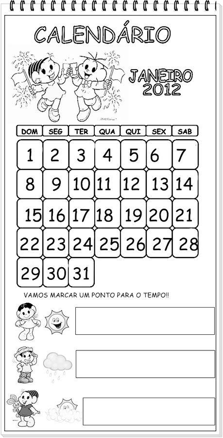 Para ampliar, salvar ou imprimir o calendário, clique no desenho.